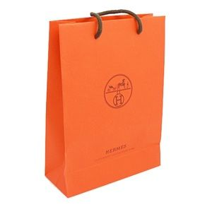 Hermes Authentic Shopping bag Small paper